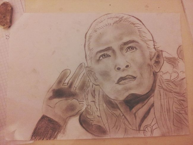 in process.. Drawing Lord Of The Rings Legolas