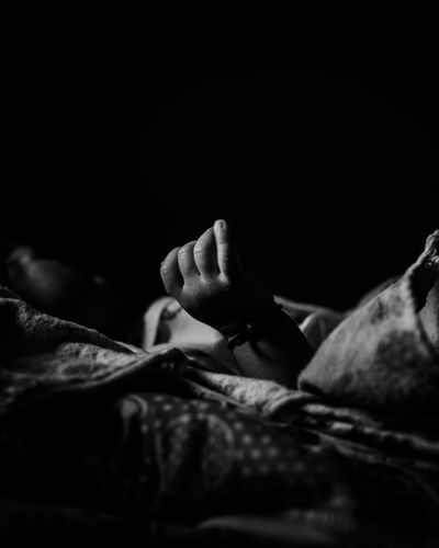 baby hand Babyboy Baby EyeEm Best Shots EyeEm Gallery EyeEm Selects EyeEmNewHere EyeEm Nature Lover Monochrome Ambient Light Natural Light Tone Portrait Human Hand Men Lying Down Sleeping Low Section Black Background Close-up Napping Bedtime Lying On Side Lying Lying On Back