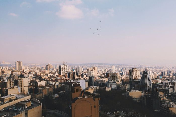 My Best Photo 2014 Architecture Iran City Tehran City Life Cityscape Middle East