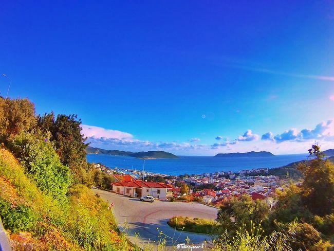 Türkiyenin 4 bir tarafında soğuk varmış kar varmış öyle diyorlar 😄😄😄🌞🌞 Bakacak City Kas Sehir MeisAdası Beautiful View