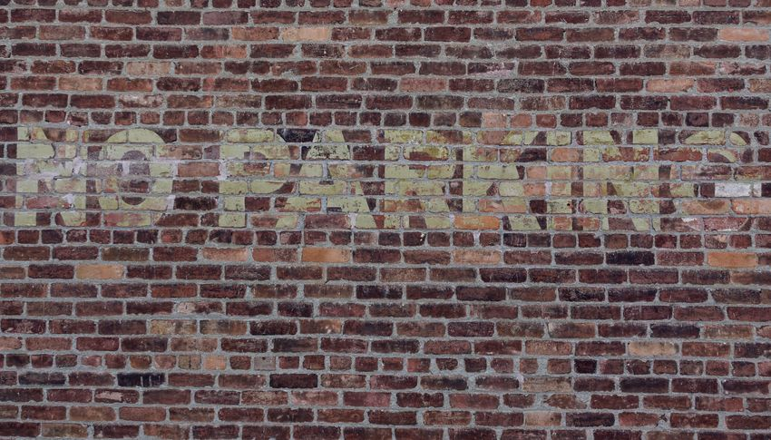 No Parking Architecture Backgrounds Brick Brick Wall Brown Building Building Exterior Built Structure Day Design Full Frame No Parking Sign No People Old Outdoors Pattern Red Repetition Textured  Wall Wall - Building Feature