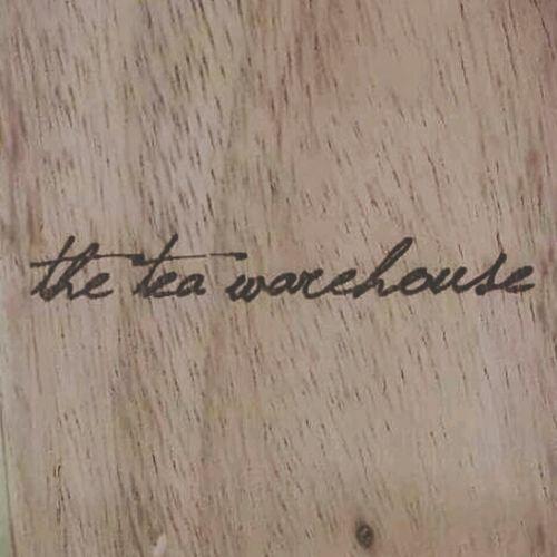 Logo on wood.