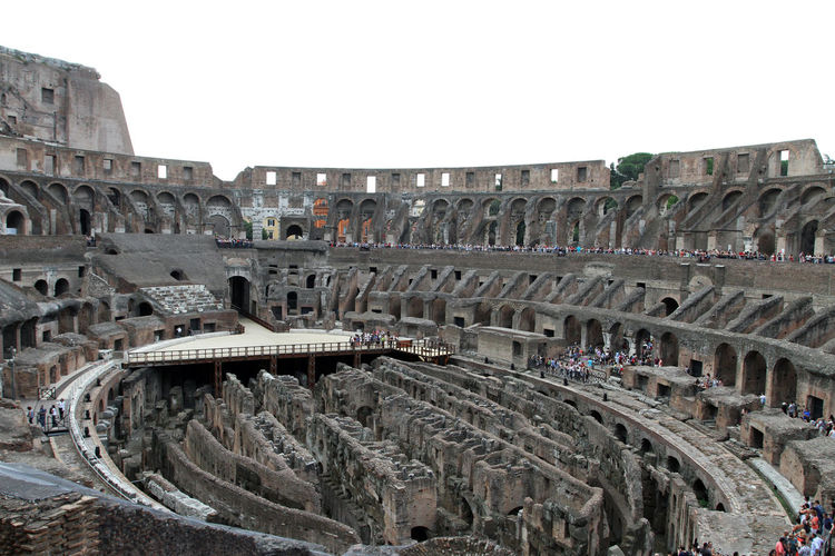 Amphitheater Ancient Ancient Civilization Arch Archaeology Arched Architecture Arts Culture And Entertainment Building Exterior Built Structure City Clear Sky Colosseum Day History Nature No People Old Ruin Outdoors Ruined Sky The Past Tourism Travel Travel Destinations