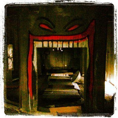 Haha! Spök-huset i Dannemora :-p