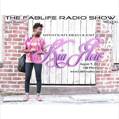 Tunein tmrw at 7pm where I will be interviewed on FabLife Radio