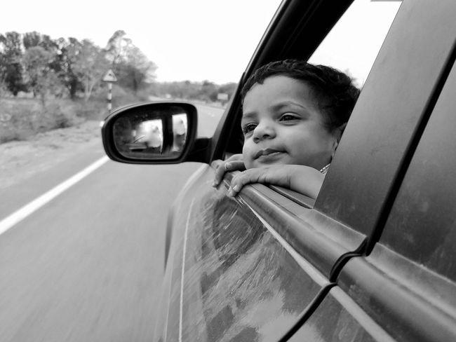 Summer Exploratorium Transportation Mode Of Transportation Motor Vehicle Car Portrait One Person Child