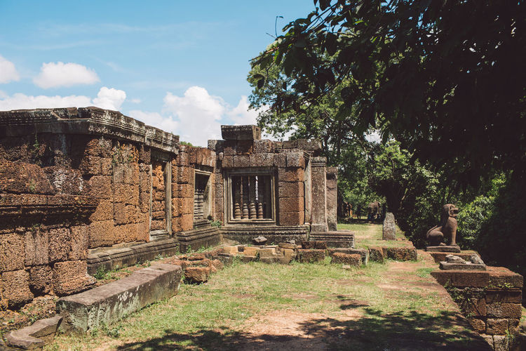 Siem Reap Cambodia Angkor Architecture History Built Structure The Past Ancient Sky Nature Old Ruin Tree Plant Ancient Civilization Old Day Cloud - Sky Place Of Worship Tourism Travel Destinations No People Building Exterior Travel Archaeology Ruined Outdoors Architectural Column Ancient History