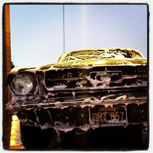 Ugh Carporn Igmustang Mustang Carwash instafamouse mustangsofinstagram classic clean