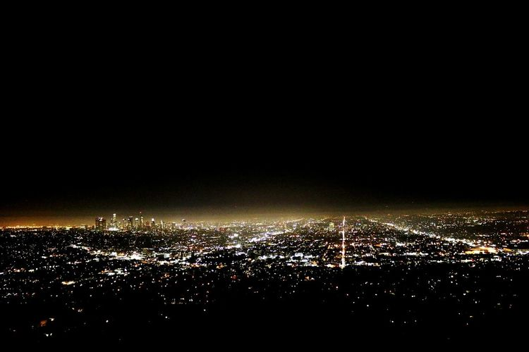 Los Angeles Night Illuminated Cityscape City Business Finance And Industry Outdoors No People Architecture Sky Griffith Observatory EyeEmNewHere Be. Ready.