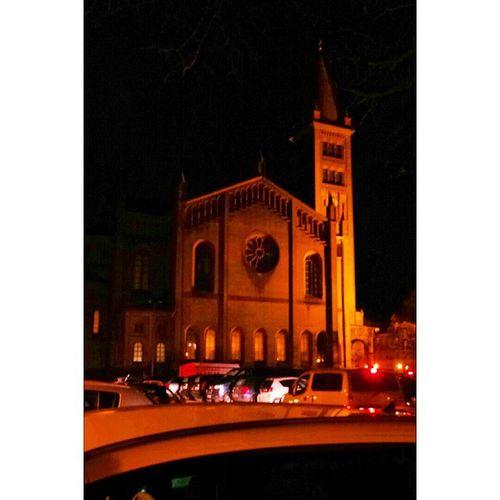Stpeterundpaul Kirche Potdam Nacht