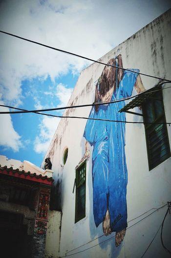 Malaysia Pulau Penang Georgetown Streetart Ernest Zacharevic