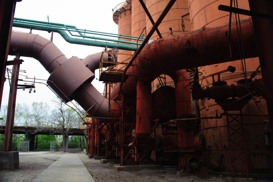 Alabama Parks Historical Sights Industrial Industrial Age Iron Old Buildings Pig Iron Sloss Furnace, Birmingham