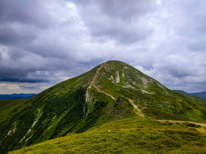 View on hoverla