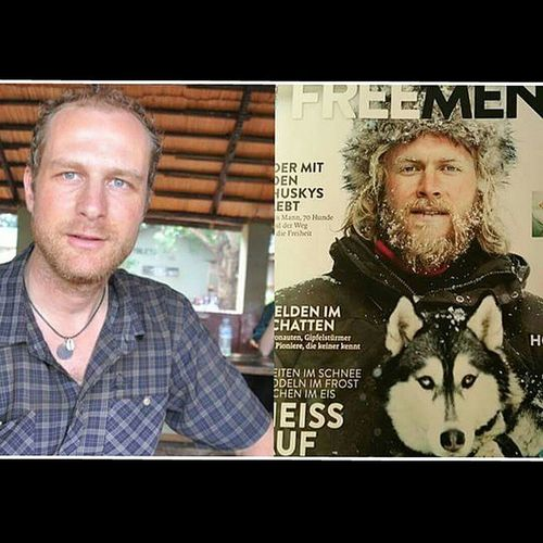 Cover? Check! 😂 Lookalike Cover Frontpage Freemensworld Adventure Outdoor Fun Biketour Model