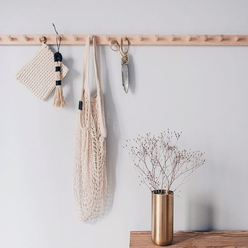 EyeEm Selects Hanging No People Coathanger Kitchen Utensils Kitchen Indoors  Kitchen Life Kitchen Stories Kitchen Details Kitchen Decoration Details Home Interior Home Interior Scandinavian Nordic Design Wood Brass