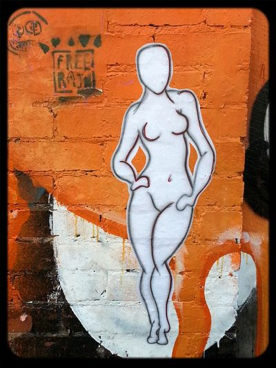 Pasteup of a sassy female by Compleks vavavoom