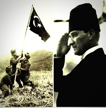 İlk ve tek Baş Komutan!!Mustafa Kemal Atatürk!!!