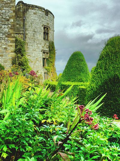 Castle and Gardens at Chirk Wales