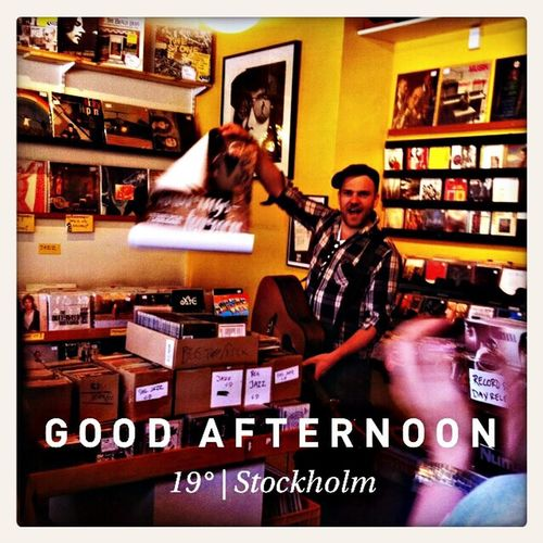 Recordstoreday Stiko Per Larsson Live Music Weekend