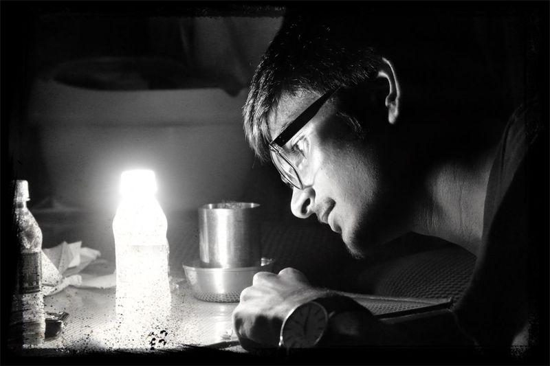 Hands On Lightout Light Up Your Life Black & White
