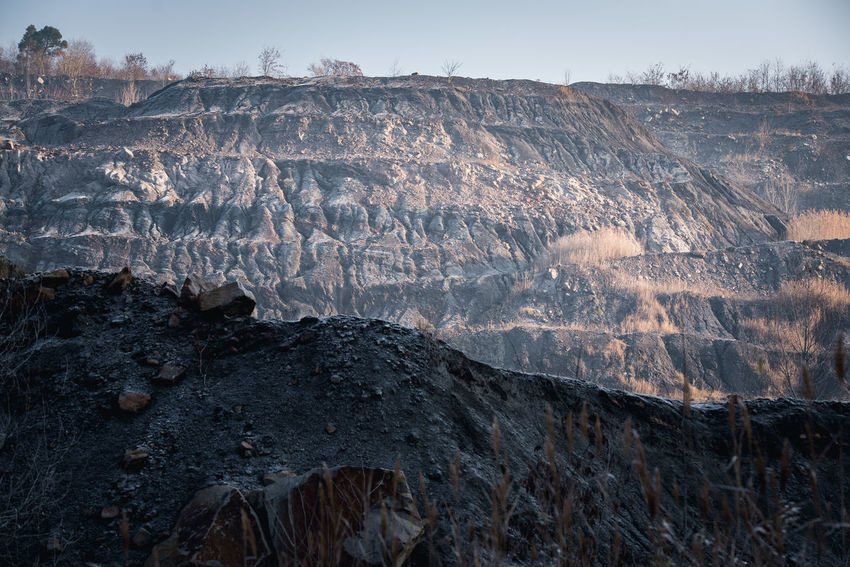 Beauty In Nature Coal Coalmine Day Earth Hill Industrial Industrial Landscapes Mine Mountain Nature No People Outdoors Sky Surface Surface Mine