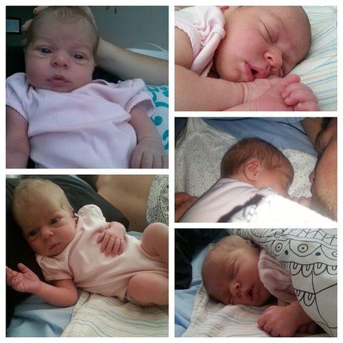 10 days old ❤❤ Skye Babygirl 10daysold Loveher myworld cuddleswithdaddy