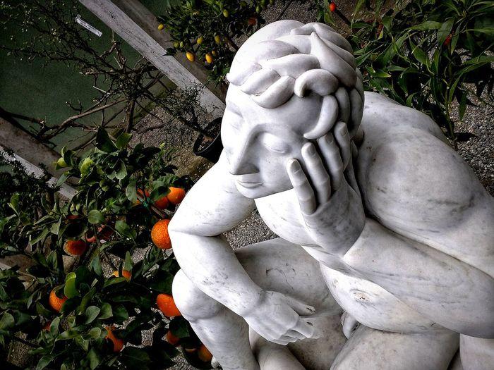 Milano, Febbraio 2018 Hdr_Collection Garden AgruMi 2018 Sculpture Statue Human Representation Close-up