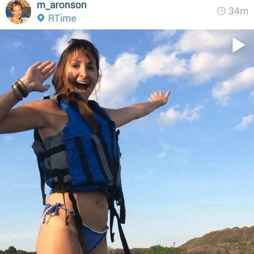 @m_aronson um... Your video is so hilarious and so apropro! xo Babesoverboard