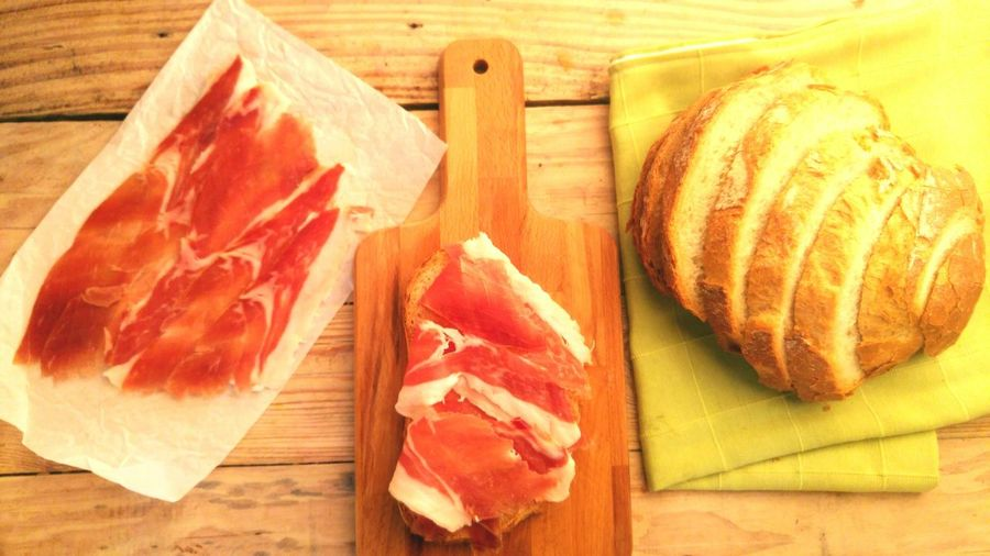 Meat Raw Food Food Beef Cutting Board Pork Freshness Food And Drink Red Meat No People Healthy Eating Ham Indoors  Processed Meat Butcher Jam Spanish Day Embutido Typical Food And Drink Jamón Ibérico Jamon Bellota Jamon Serrano