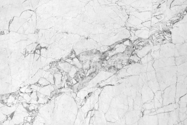 Full frame shot of white paper on floor