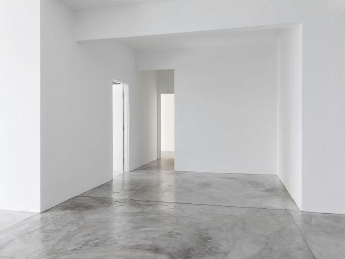 Empty Corridor At Home