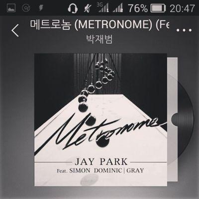 ADDICTED ???? CurrentlyListening Jaypark Simondominic Gray Metronome Kpop Korea AOMG