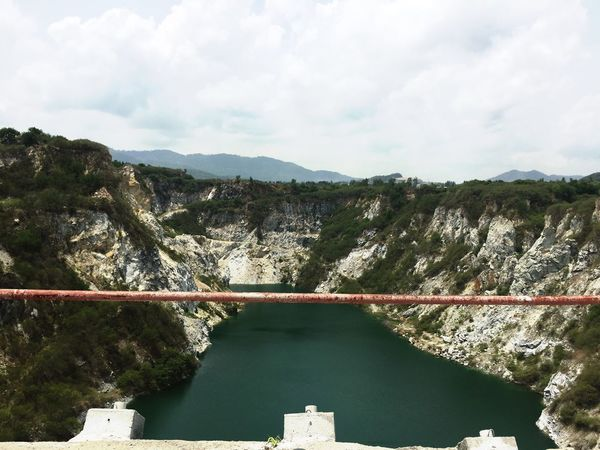 Travel Hydroelectric Power Dam Water Fuel And Power Generation Renewable Energy Mountain Nature Alternative Energy Day Sky No People River Outdoors Scenics Built Structure Beauty In Nature Bridge - Man Made Structure Tranquility Power Station Electricity  Nature Grandcanyonchonburi Grandcanyonthailand