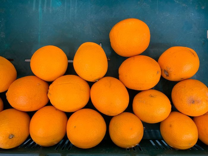 Orange Color Healthy Eating Food Fruit Food And Drink Wellbeing Freshness Citrus Fruit Orange Orange - Fruit No People Still Life Large Group Of Objects High Angle View Outdoors Abundance Close-up Day Nature Yellow Ripe