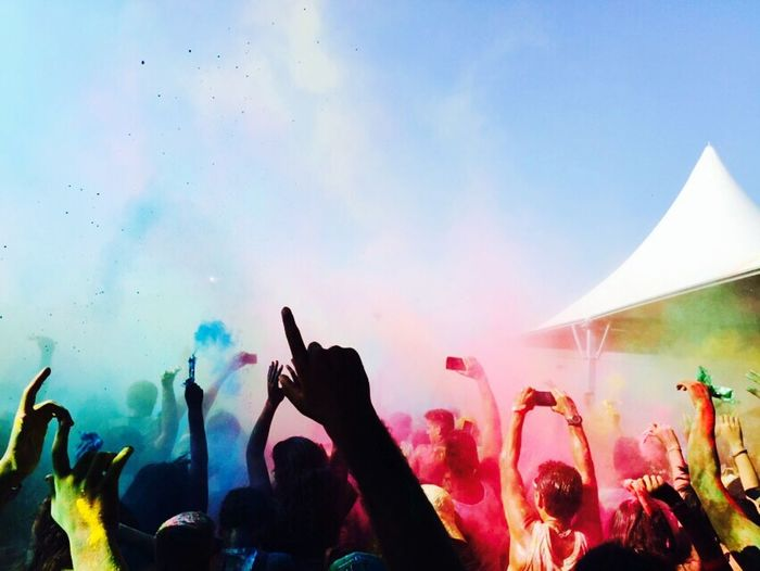 Life in colors! Musicfestival Phtography Colors Fun