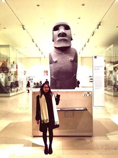 my Dum Dum Easter Island Heads so nice to Meet you again since 2013 was in American Museum Of Natural History History Love Wondering Dayoff Chilling Check This Out Myself Happy