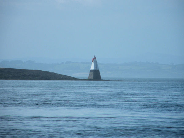 Ards Peninsula Beauty In Nature Clear Sky Day Lighthouse Mountain Nature No People Northern Ireland Outdoors Scenics Sea Sky Strangford Lough Tranquil Scene Water Waterfront