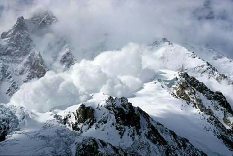 Avalanche  Nature Photography Amazing Place Fall In Love ♡ K2