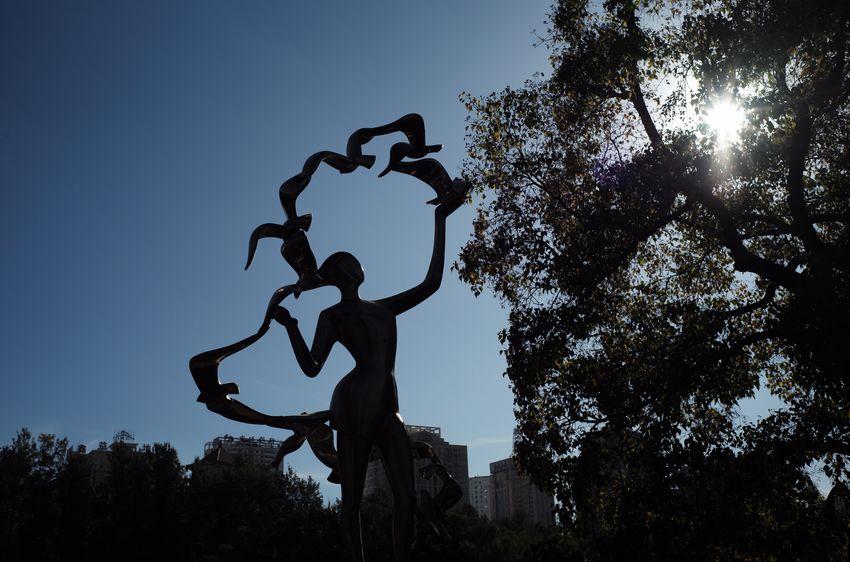 Sculpture Sillouette