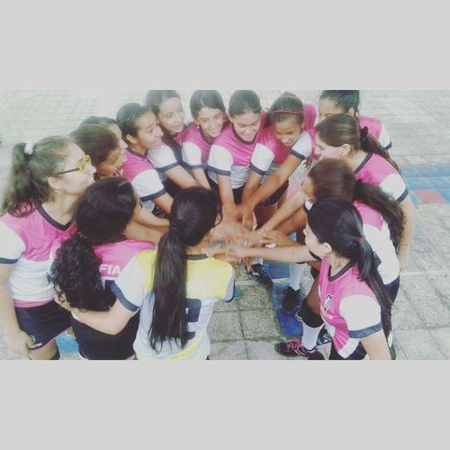 THESE Are My Friends el trabajo en equipo asegura el exito 💪👅 Volleyball Team Popayán , Colombia