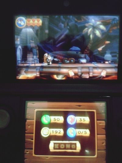 getting a little nervous.... haha Playing Games Nintendo 3DS Donkey Kong That's Me