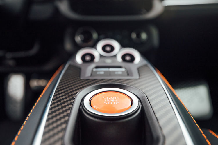 Close-up of camera phone