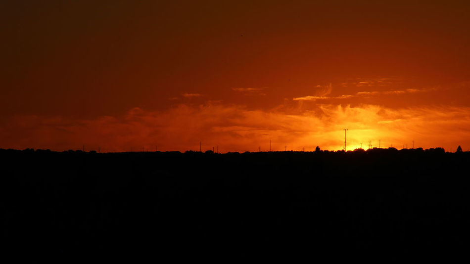 Sunset to Remember. Sunset Landscape Orange Color Sun Alentejo Alentejo Landscapes Portugal Beautiful 43 Golden Moments Hd Photo