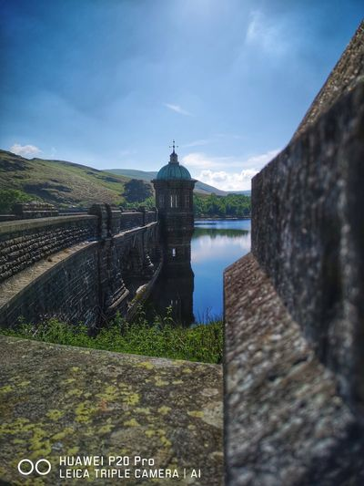 Elan Valley Mid Wales Water History Astronomy Sky Architecture Building Exterior Cloud - Sky Built Structure Grass