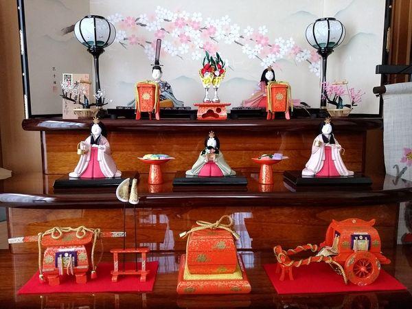 我が家は旧暦 娘の雛人形 雛祭り 雛人形 Doll Girl's Festival Doll's FestivalJapanese Culture Japanese