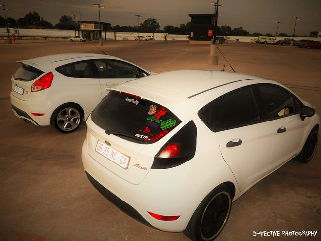 fun car shoot with friends #cars #fiestast #ford #fordfiesta #NightLife #sunset #sun #clouds #skylovers #sky #nature #beautifulinnature #naturalbeauty #photography #landscape #wheels #whitecar