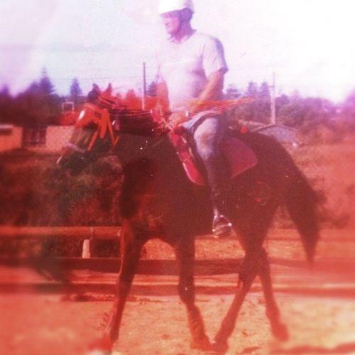 Garry riding Bella At Pony Club South Australia Horses.. Taking Photos