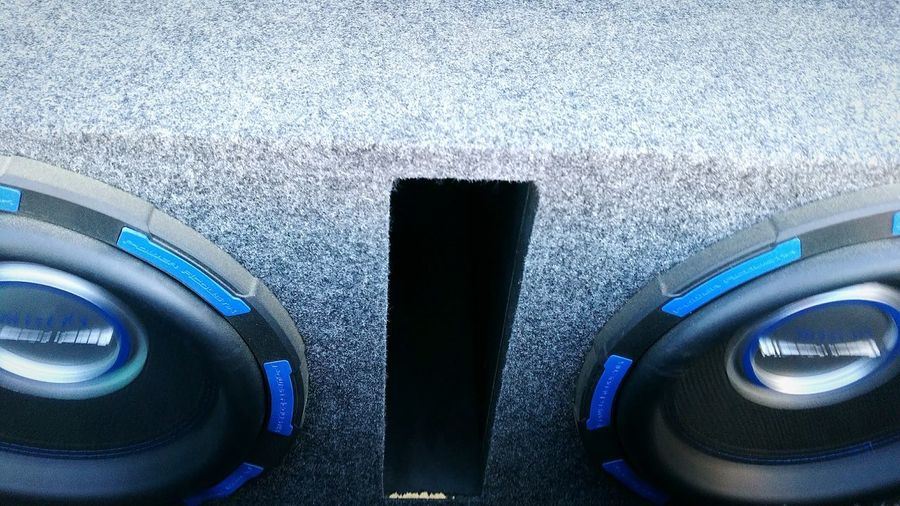 Blue Close-up No People Technology Outdoors Day Motorsport Subwoofers Speaker Speakers Circle Circular Circles Bass Music