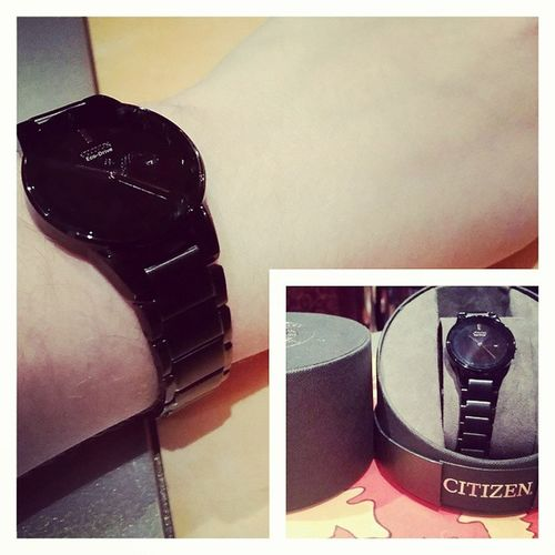 My new Citizen Ecodrive watch. Big thanks to Carnivalvalorgiftshopteam . 👏👌