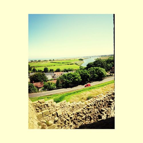 Good day at warkworth castle yesterday, looked beautiful?